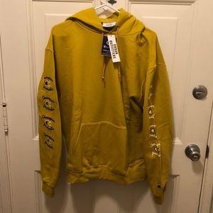 🆕 Champion mustard yellow hoodie